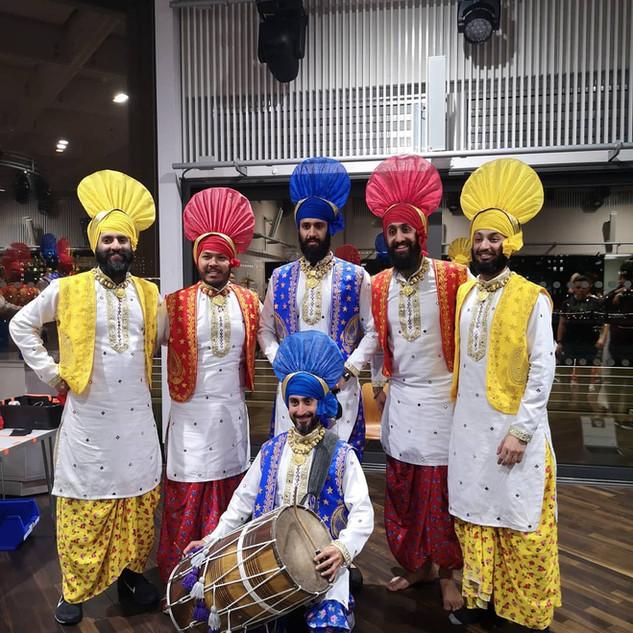 Bhangra dancers and Dhol Drummers.jpg