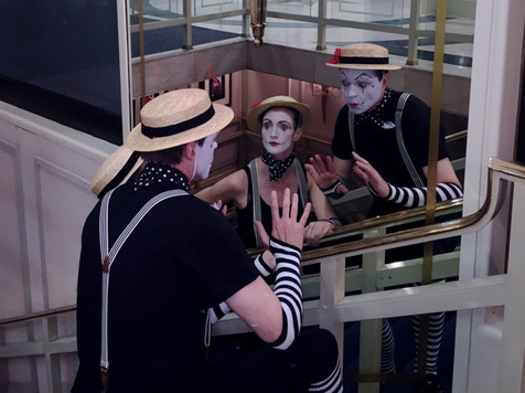 Book or Hire a Mime Artist for Events | Red Panda Agency Entertainment