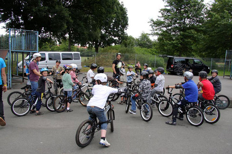 Hire BMX and Skateboarding - London - UK | Red Panda Agency Entertainment