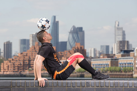 Hire Football Freestylers - Colin Neil Freestyler Footbailer - UK | Red Panda Agency Entertainment