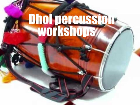Dhol and indian percussion workshops for primary and secondary schools | Red Panda Workshops