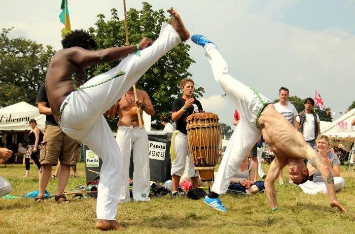 Capoeira festival