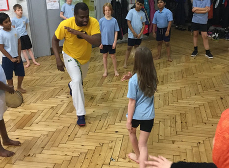 Capoeira workshops for primary and secondary schools   Red Panda Workshops