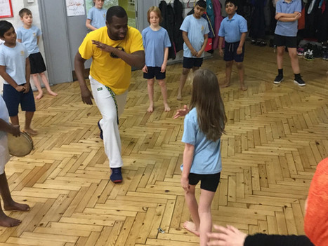 Capoeira workshops for primary and secondary schools | Red Panda Workshops