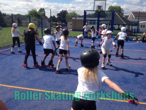 Roller skating workshops for primary and secondary schools | Red Panda Workshops