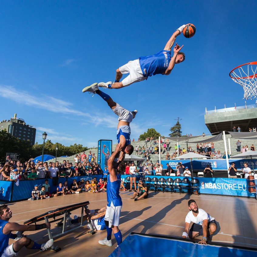 Basketball Freestylers for Hire