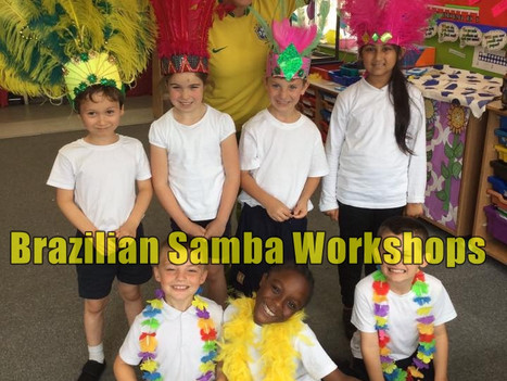 Book Samba Workshops for Primary and Secondary Schools | Red Panda Workshops