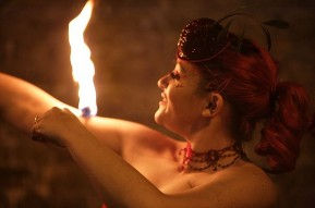 Hire Fire dancers