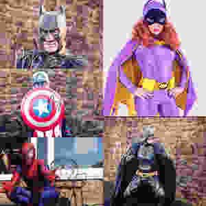 Super heroes children's entertainment