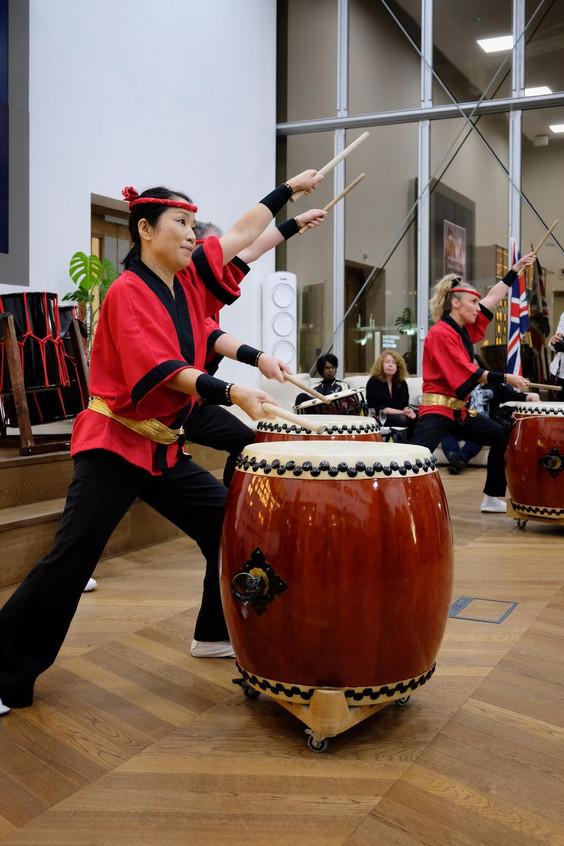 Taiko Japonese drumming