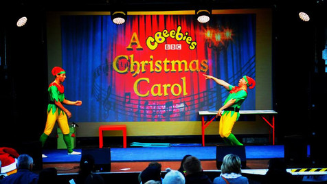 Hire Acrobatics Elves for Christmas events UK | Red Panda Agency Entertainment