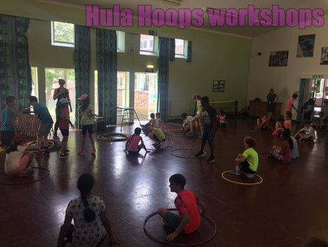 Book Hula Hoops Workshops for Primary and Secondary Schools | Red Panda Workshops