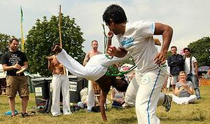 Book Capoeira dancers