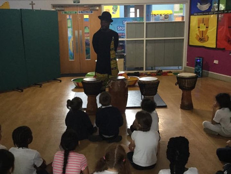 African drumming and dance workshops for primary and secondary schools | Red Panda Workshops