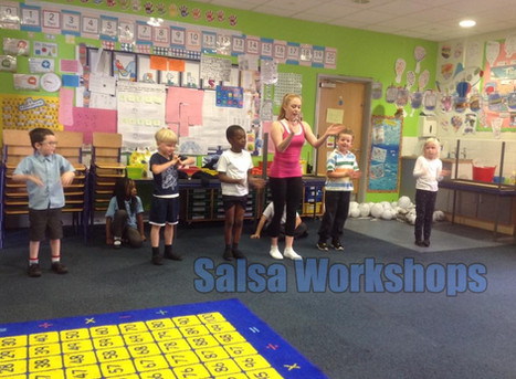 Salsa workshops for primary and secondary schools   Red Panda Workshops