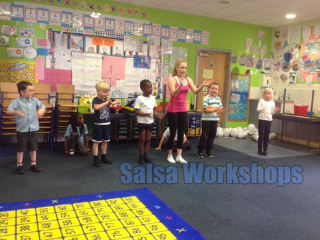 Salsa workshops for primary and secondary schools | Red Panda Workshops