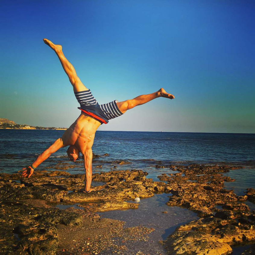 Polish acrobat