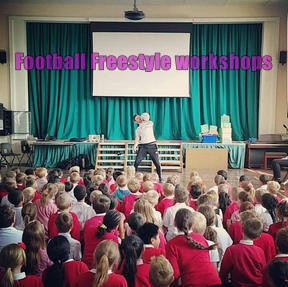 Book Football Freestyle Workshops for Primary and Secondary Schools | Red Panda Workshops