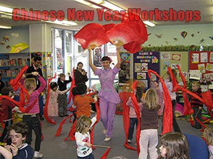 Chinese new year workshops for primary and secondary schools | Red Panda Workshops
