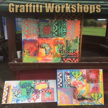 Graffiti Workshops for Schools