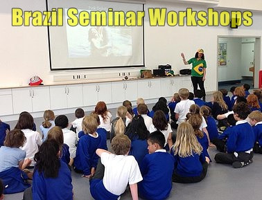 Brazilian seminar workshops for primary and secondary schools | Red Panda Workshops