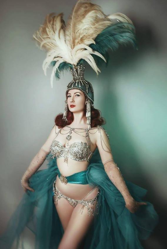 international burlesque performer hire