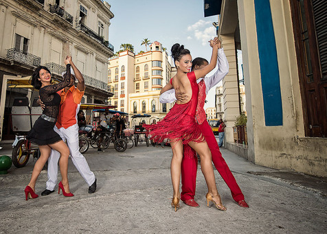 Hire Salsa Dancers based in London | Red Panda Agency Entertainment