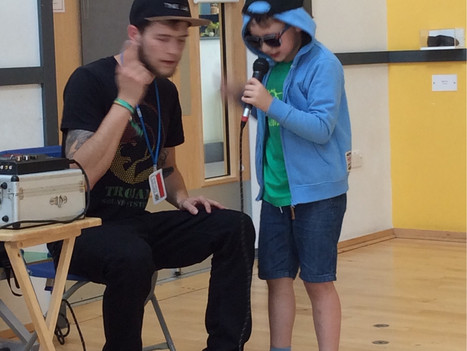 Beatboxing workshops for primary and secondary schools | Red Panda Workshops