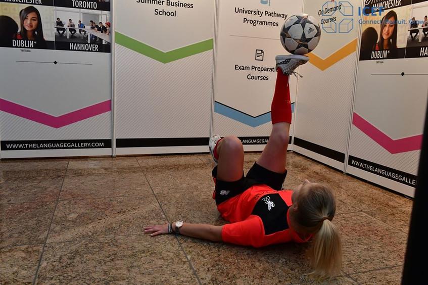 Football freesyle Agnieszka Mnich