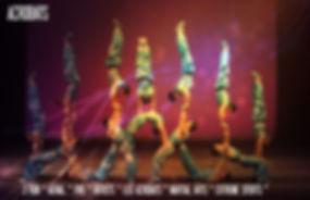 hire circus acrobats