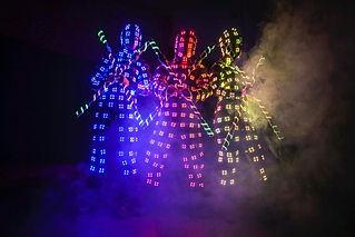LED acrobatics