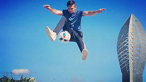 Football freestylers hire