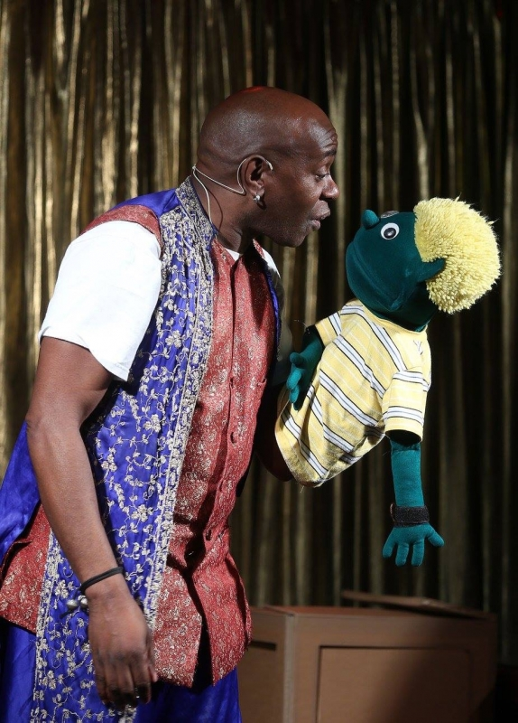 Afro puppet hire