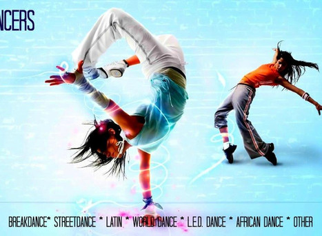 Book Dance Workshops for Schools