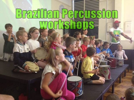 Book Brazilian Percussion Workshops for Primary and Secondary Schools | Red Panda Workshops