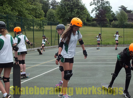 Skateboarding workshops for primary and secondary schools   Red Panda Workshops