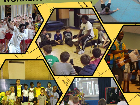 Book Entertainment Workshops for Schools - Primary School - Secondary School
