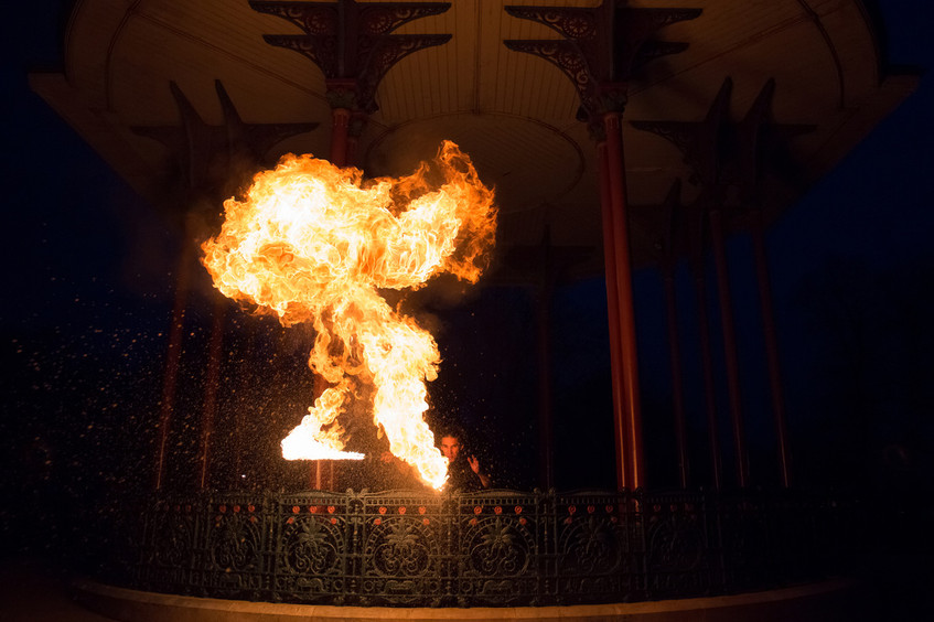 Zen Peformer Fire