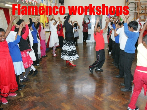 Flamenco workshops for primary school and secondary schools | Red Panda Workshops