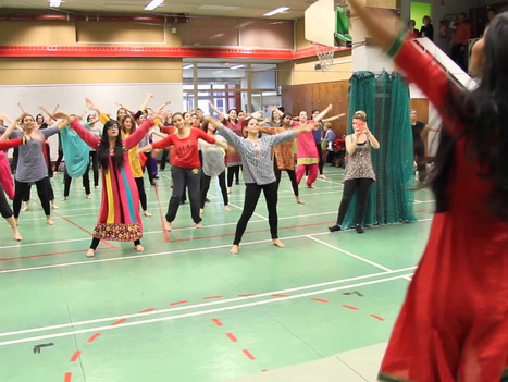 Book Bollywood Dance Workshops for Schools - Primary School - Secondary School