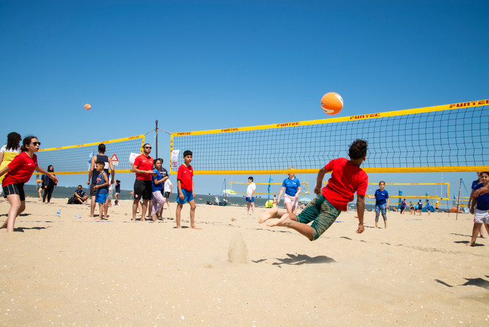 Krajicek volleyball tour scheveningen Ro