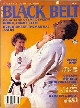 Black Belt Magazine Cover