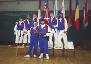 AS with US team Budapest 1991.JPG