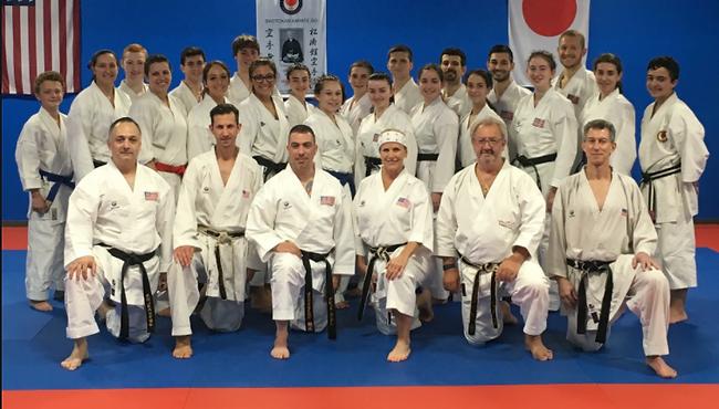 Alex Sternberg karate dojo