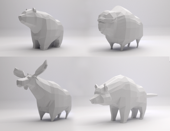 Concept Animal Shapes