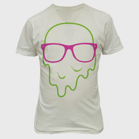 Melty Face T-Shirt Design