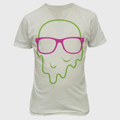 Melty Face T-Shirt Design