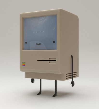 Classic Computer Character