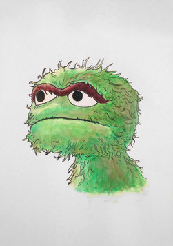 Oscar Water Color