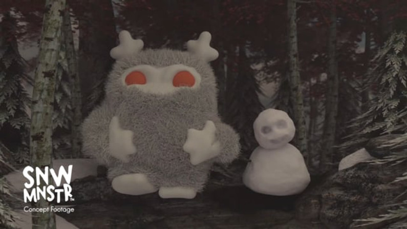 The Snow Monster Concept Footage
